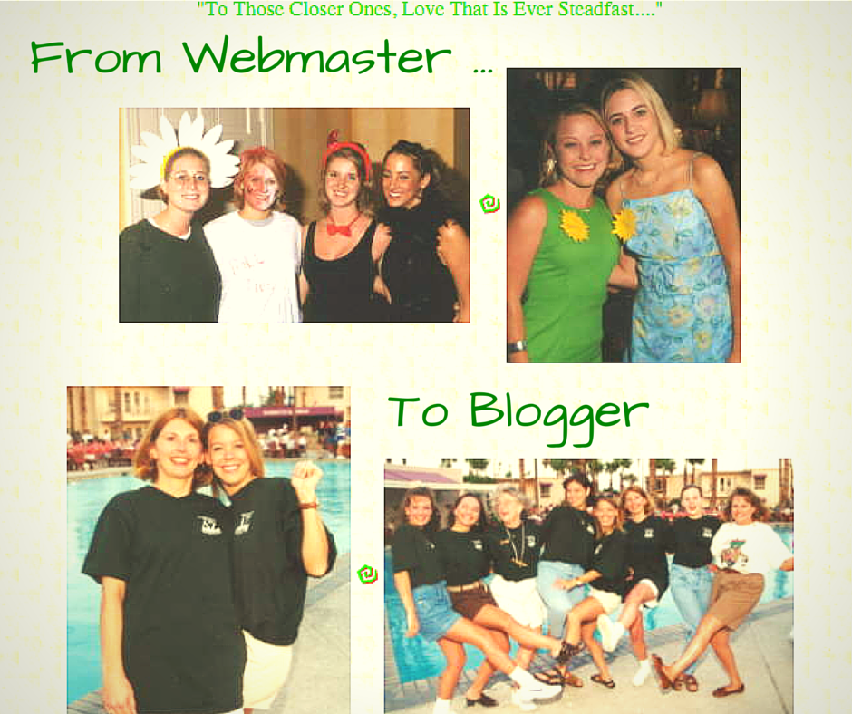 From Webmaster to Blogger