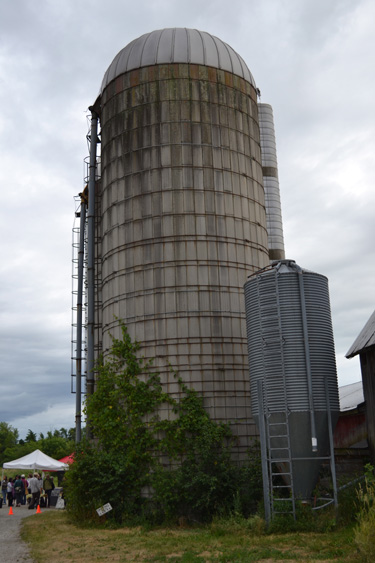 Silo photo copyright 2012 Sheree Martin
