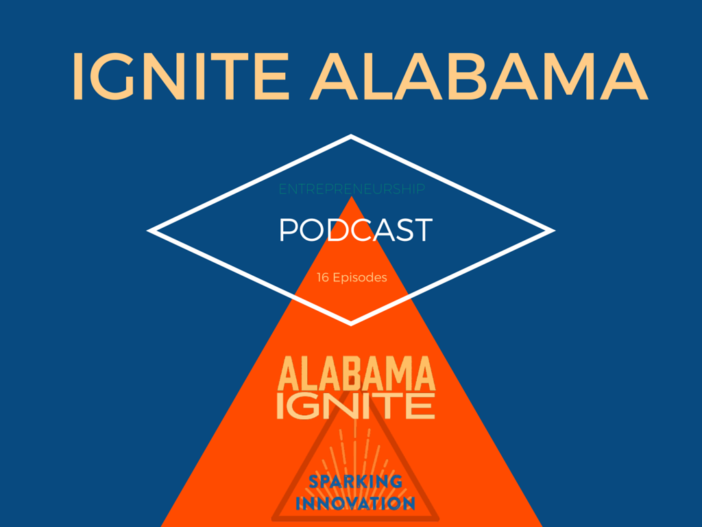 Ignite Alabama is a podcast to spark innovation and entrepreneurship in Alabama. Launched in early July 2015 by Sheree Martin. Visit ignitealabama.com for details.