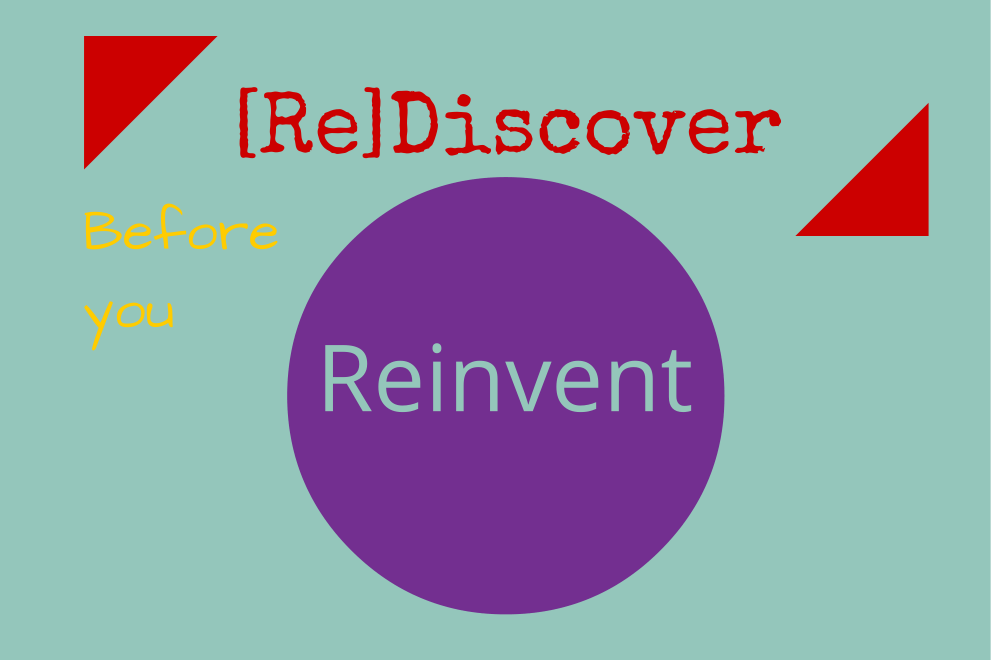 (Re)Discover Before You Reinvent Sheree Martin