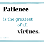 The Patience Discipline
