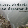 Every Obstacle is an Opportunity Black Canyon Colorado
