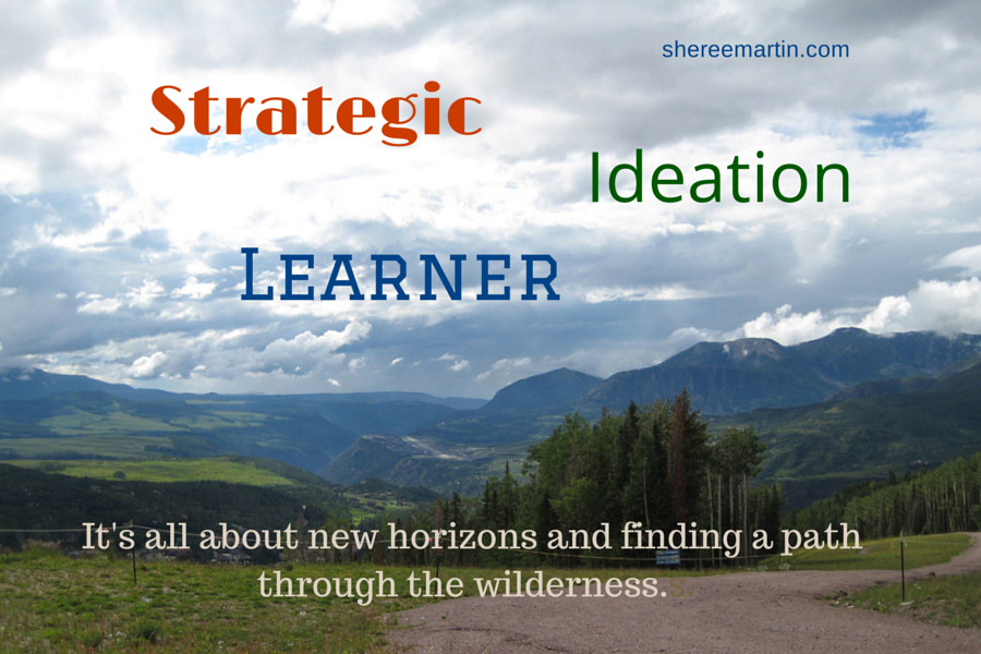 Strategic, Ideation, Learner: StrengthsFinder 2.0 Themes