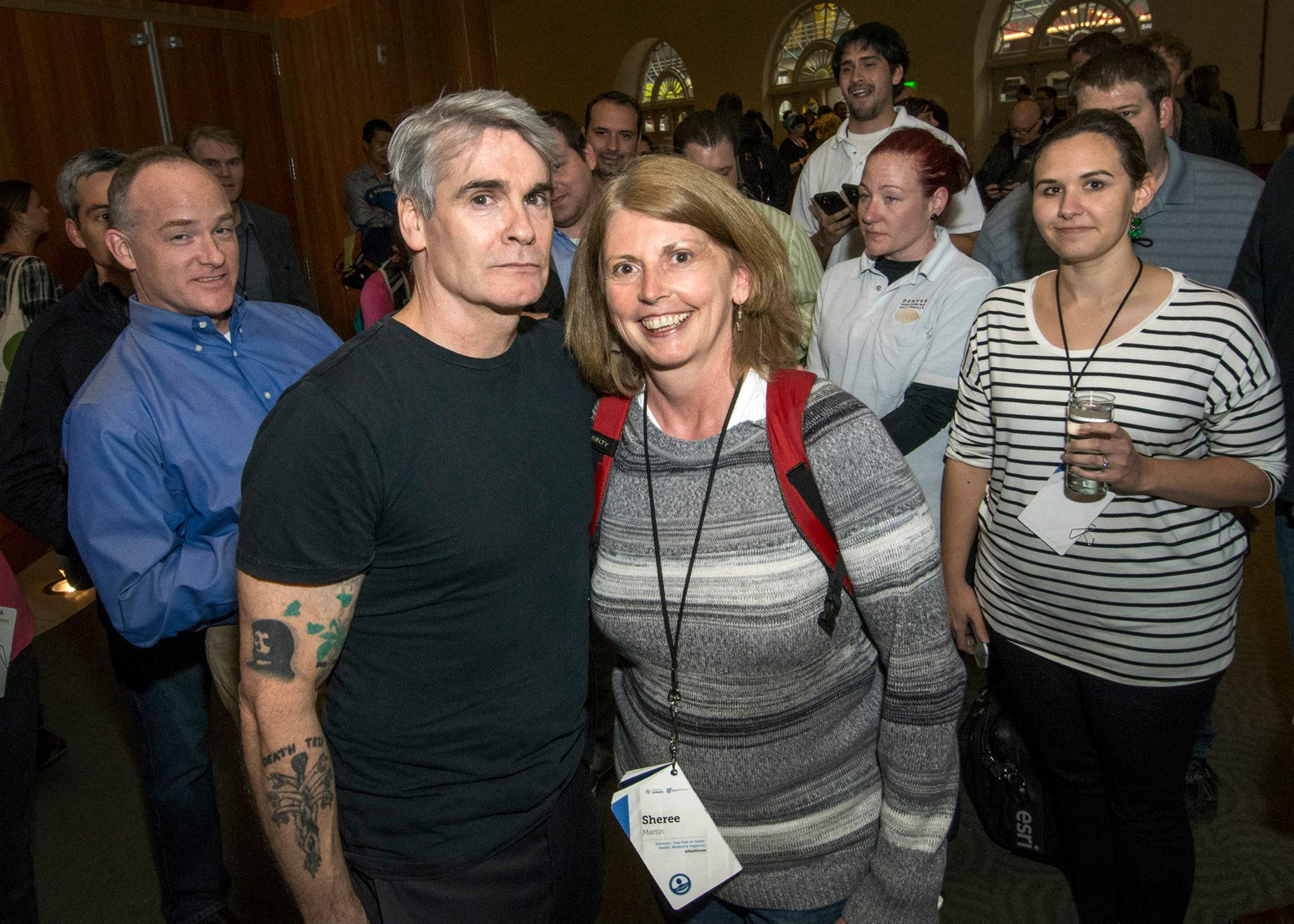 Rainmaker Authority 2015 Sheree Martin and Henry Rollins, photo by Brad Crooks
